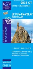 Le Puy-en-Velay ; 2835 OT - Couverture - Format classique