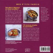 Mes p'tits farcis - 4ème de couverture - Format classique
