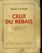 CUEX DU REBAIS. Maquisards ardennais. Armee secrete. Basse Semois belge. - Couverture - Format classique