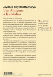 livre une antigone 224 kandahar joydeep roy bhattacharya
