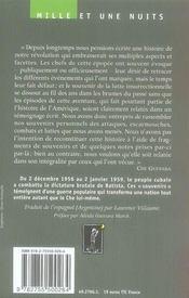 Souvenirs de la guerre révolutionnaire cubaine - 4ème de couverture - Format classique