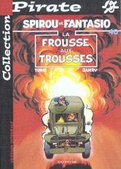 Spirou et Fantasio t.40 ; la frousse aux trousses - Intérieur - Format classique