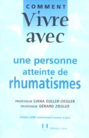 Comment vivre avec une personne atteinte de rhumatismes - Couverture - Format classique