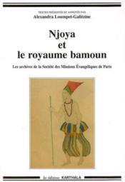 Njoya et le royaume bamoun - Couverture - Format classique