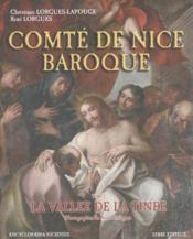 Comte de nice baroque ; la vallee de tinee - Couverture - Format classique