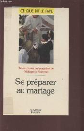 Se préparer au mariage - Couverture - Format classique
