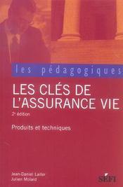 Les cles de l'assurance-vie (2e edition) - Intérieur - Format classique