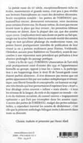 La baignoire d'Archimède ; anthologie de l'obèriou - 4ème de couverture - Format classique
