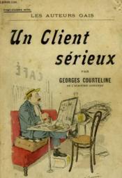 Un Client Serieux. - Couverture - Format classique