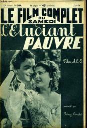 Le Film Complet Du Samedi N° 2098 - 17e Annee - L'Etudiant Pauvre - Couverture - Format classique
