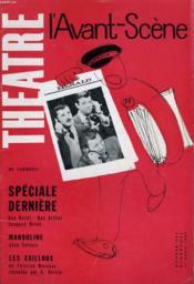 L'AVANT-SCENE - THEATRE N° 262 - SPECIAL DERNIERE de BEN HECHT / MAC ARTHUR / JACQUES DEVAL - Couverture - Format classique