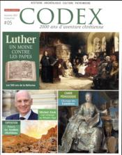 Vente livre :  CODEX ; Luther  - Collectif - Codex