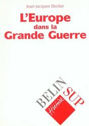 Vente livre :  Europe 1 re guerre mond  - Becker J.J.