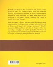 Kultur-Mosaik 2 Reperes De Culture Generale En Langue Allemande - 4ème de couverture - Format classique
