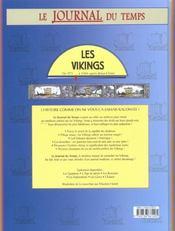 Les Vikings. De 973 À 1066 Après Jésus-Christ - 4ème de couverture - Format classique