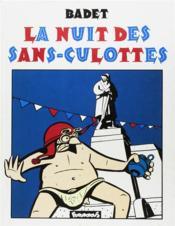 La Nuit Des Sans Culottes - Couverture - Format classique
