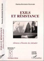 Exils Et Resistance - Couverture - Format classique