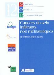 Cancers Du Sein Infiltrants Non Metastatiques ; 2e Edition - Intérieur - Format classique