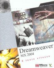 Dreamweaver Mx 2004 - Intérieur - Format classique