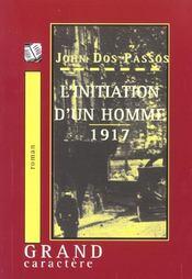 L'Initiation D'Un Homme 1917 - Intérieur - Format classique