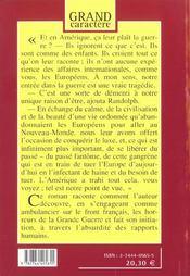 L'Initiation D'Un Homme 1917 - 4ème de couverture - Format classique