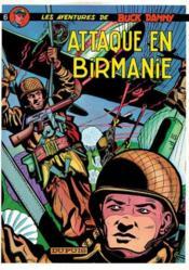 Buck Danny t.6 ; attaque en birmanie - Couverture - Format classique