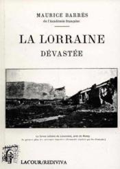 La Lorraine Devastee - Couverture - Format classique