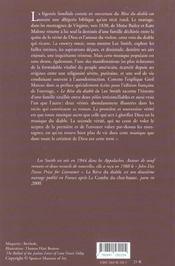 Le Reve Du Diable - 4ème de couverture - Format classique