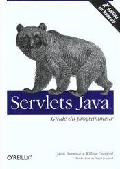 Servlets Java Guide Du Programmeur 2e Edition - Intérieur - Format classique