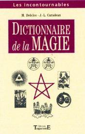 Dictionnaire De Magie - Intérieur - Format classique
