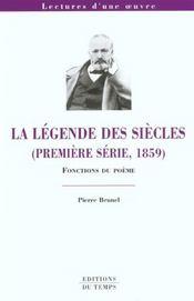La Légende des siècles de Victor Hugo - Intérieur - Format classique