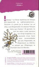 Le Bestiaire Secret De Lord Bargamoufle - 4ème de couverture - Format classique