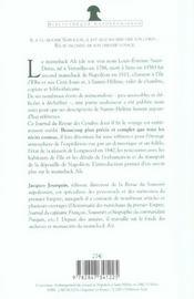Journal Inedit Du Voyage De Saint-Helene - 4ème de couverture - Format classique