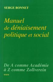 Manuel de deniaisement - Couverture - Format classique