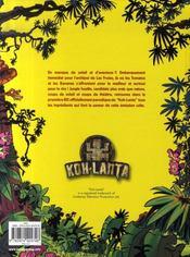 Koh-lanta t.1 ; los perdidos de las frutas - 4ème de couverture - Format classique