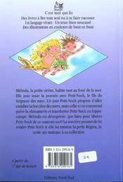 Melinda et la sorciere des mers - 4ème de couverture - Format classique