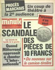 Minute N°809 du 12/10/1977 - Couverture - Format classique