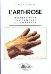 L'Arthrose Descriptions Traitements Et Conseils - Intérieur - Format classique