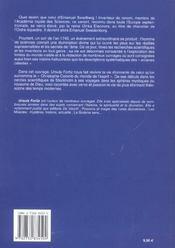 Swedenborg - 4ème de couverture - Format classique