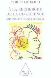 A la recherche de la conscience - Intérieur - Format classique