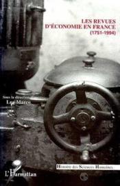 Revues D'Economie En France(1751-1994) - Couverture - Format classique