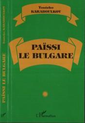 Paissi Le Bulgare - Couverture - Format classique