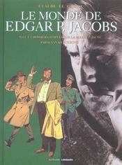 Auteurs Lombard Le Monde De Edgar P Jacobs - Intérieur - Format classique
