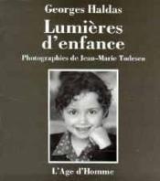 Lumieres D'Enfance - Couverture - Format classique