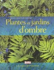Plantes et jardins d'ombre - Intérieur - Format classique