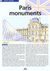 Paris monuments - Intérieur - Format classique
