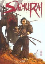 Samurai T.1 ; le coeur du prophète - Intérieur - Format classique