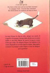 Il Faut Sauver La Souris - 4ème de couverture - Format classique