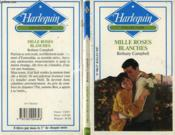 Mille Roses Blanches - A Thousand Roses - Couverture - Format classique