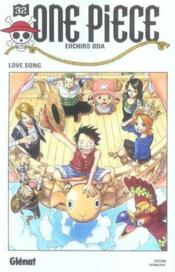 One piece t.32 ; love song - Couverture - Format classique